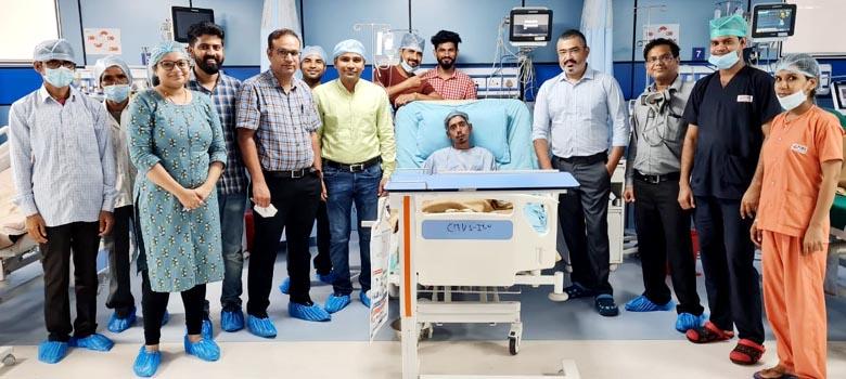 Cardiac surgery for sporadic heart disease at PIMS Hospital