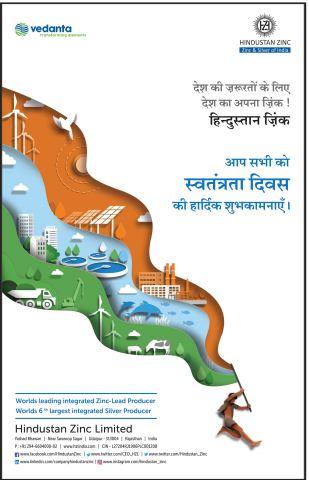 Advertisement Hindustan Zinc Ltd.