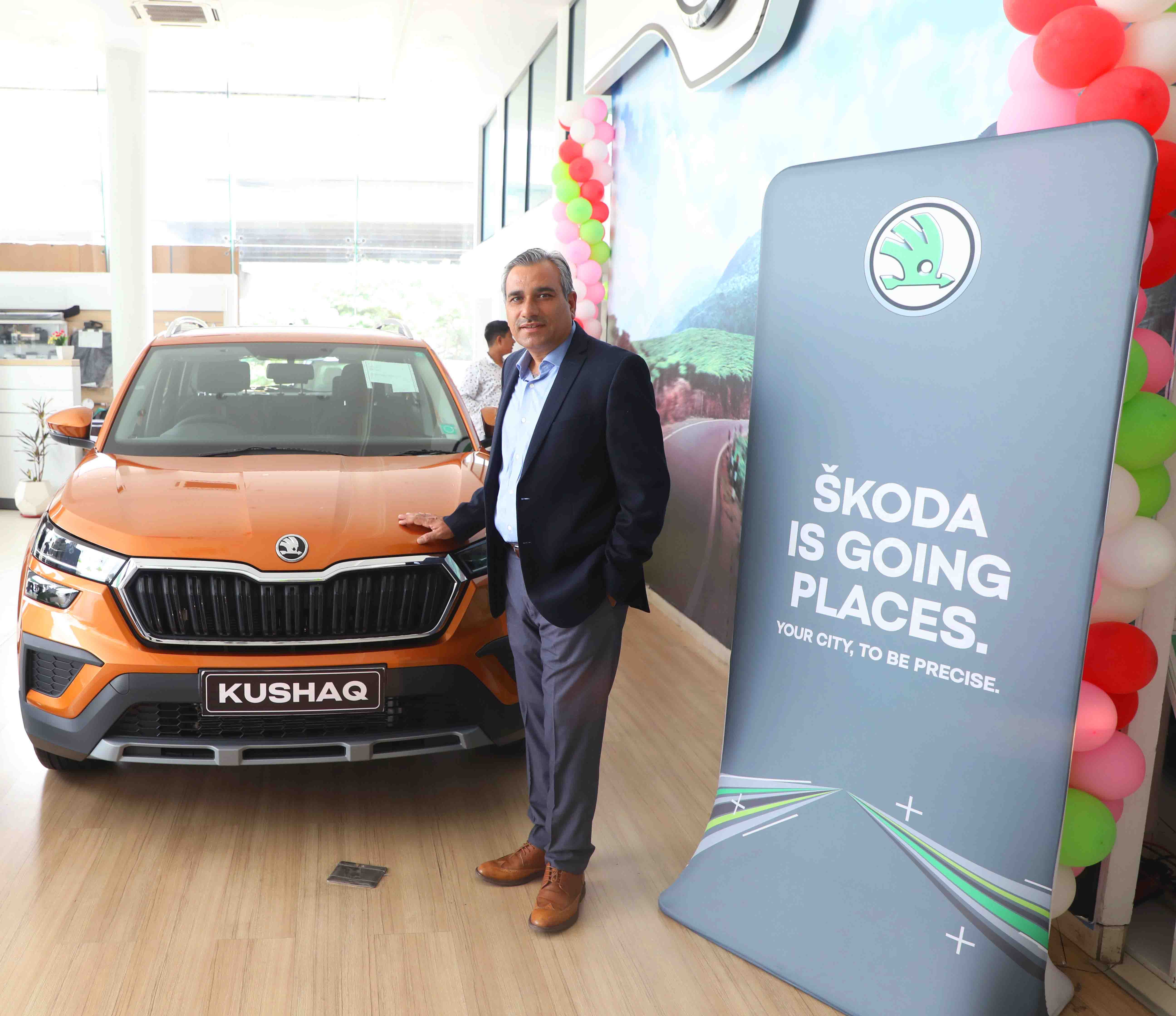ŠKODA AUTO India offers 'Peace of Mind' to customers in Udaipur with the newly launched SUV KUSHAQ