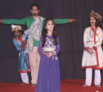Children Theater Workshop Concludes with staging two plays