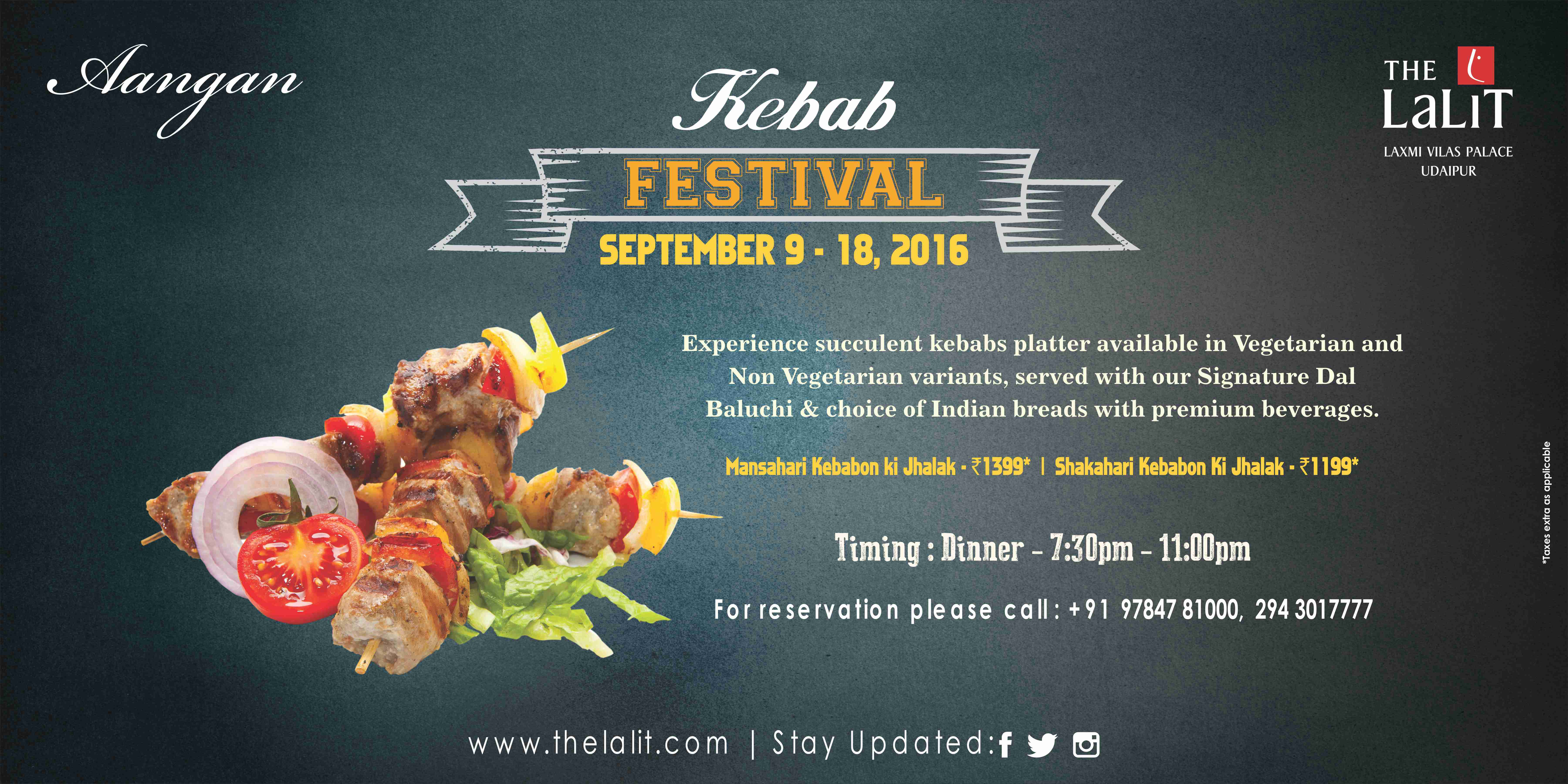 Advertisement_Kebab Festival_The lalit