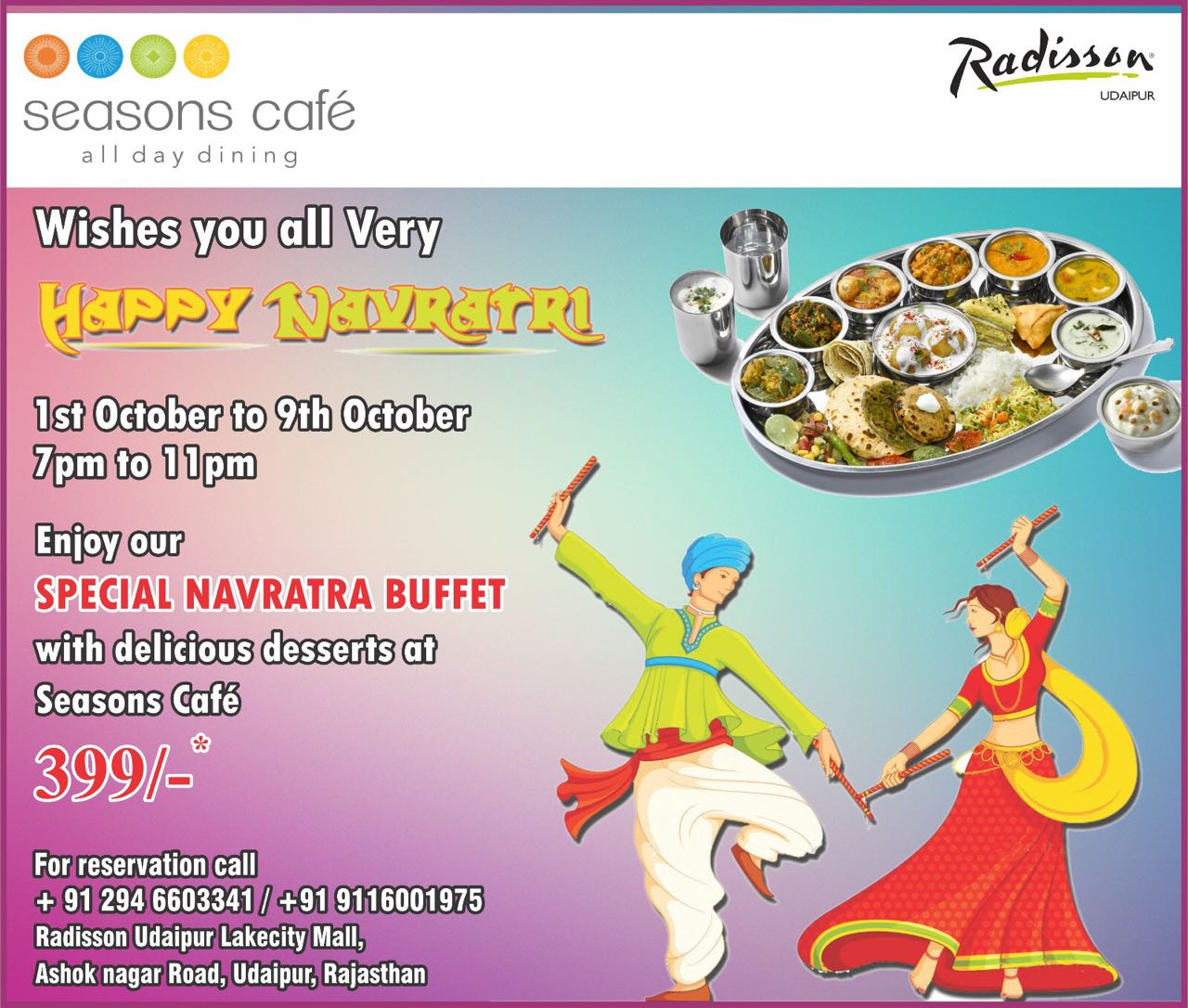 Advertisement_Navratri@Radisson