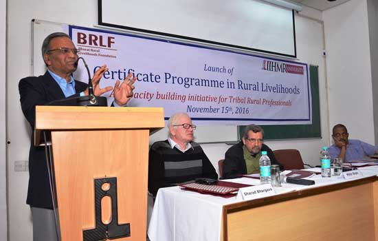 IIHMR University Partners With BRLF to Offer a Certificate Programme in Rural Livelihoods