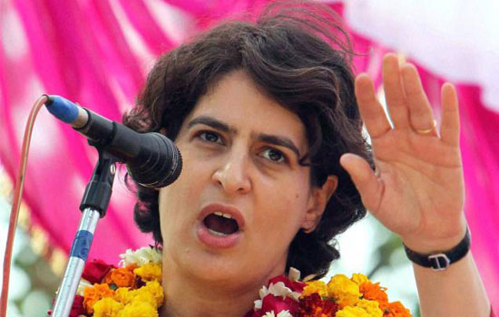 Priyanka laughs off sexist remark by BJP's Katiyar