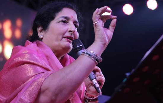 Anuradha Paudwal to receive the 'Padmashree Award'