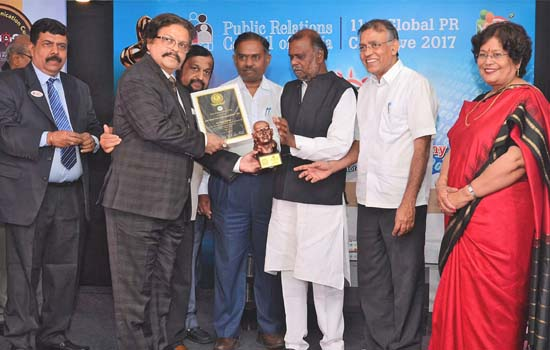 Abhijit Sarkar Bestowed With Prestigious Chanakya Juries Special Award