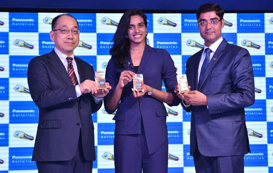 Panasonic Batteries signs up P.V. Sindhu as the Brand Ambassador