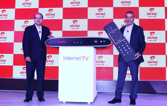 Airtel launches 'Internet TV' for Digital Homes