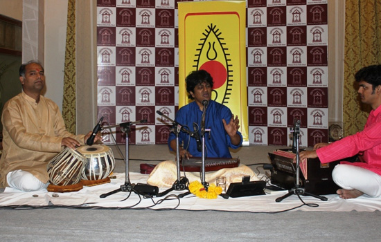 Presentation of renowned singer Kumar Maradur