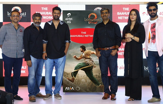 Now enjoy the 'Baahubali' experience on Airtel - India's Fastest Mobile Network