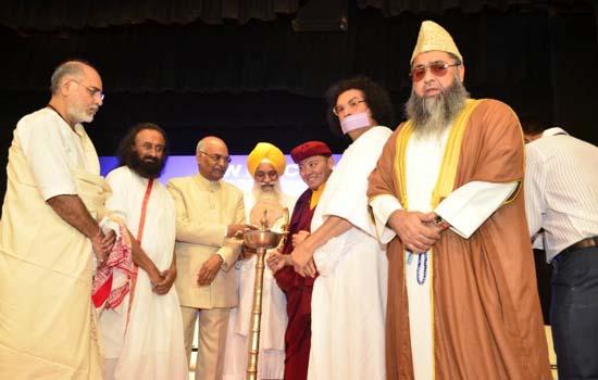 Interfaith Dialogue can create World Peace- Sri Sri Ravi Shankar