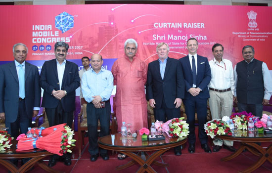 India Mobile Congress launched by Manoj Sinha Minister of Communications