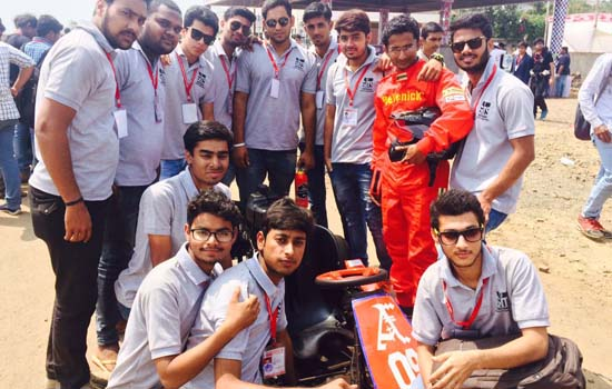 GITS students waved in the field of automobile