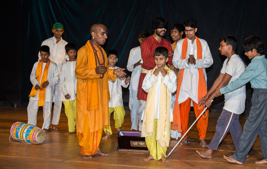 Nandan Katha - Visually Impaired Actors Over whelmed Audience