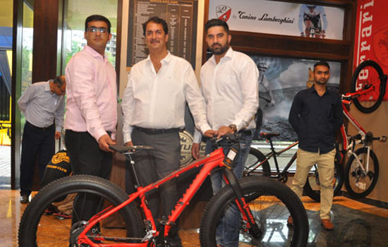 Launch of bike studio in Udaipur