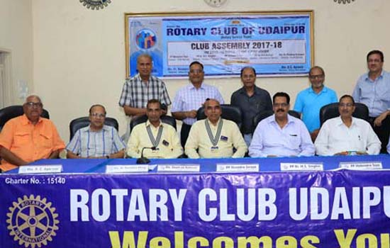 Rotary Club Udaipur plans to invest 40 lakhs