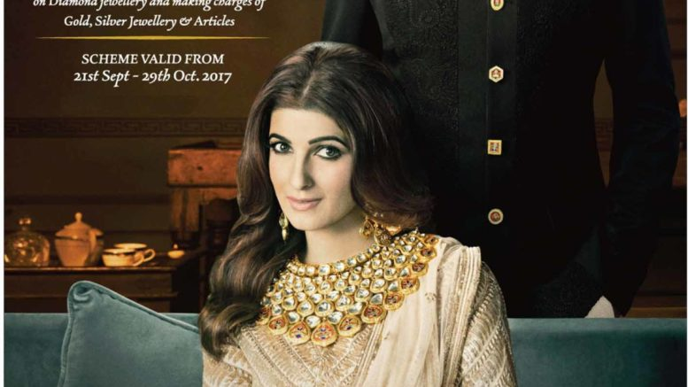 MR. & MRS. KHILADI, THE NEW FACE OF PC JEWELLER