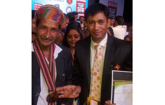 Vinaya Bhanawat felicitated