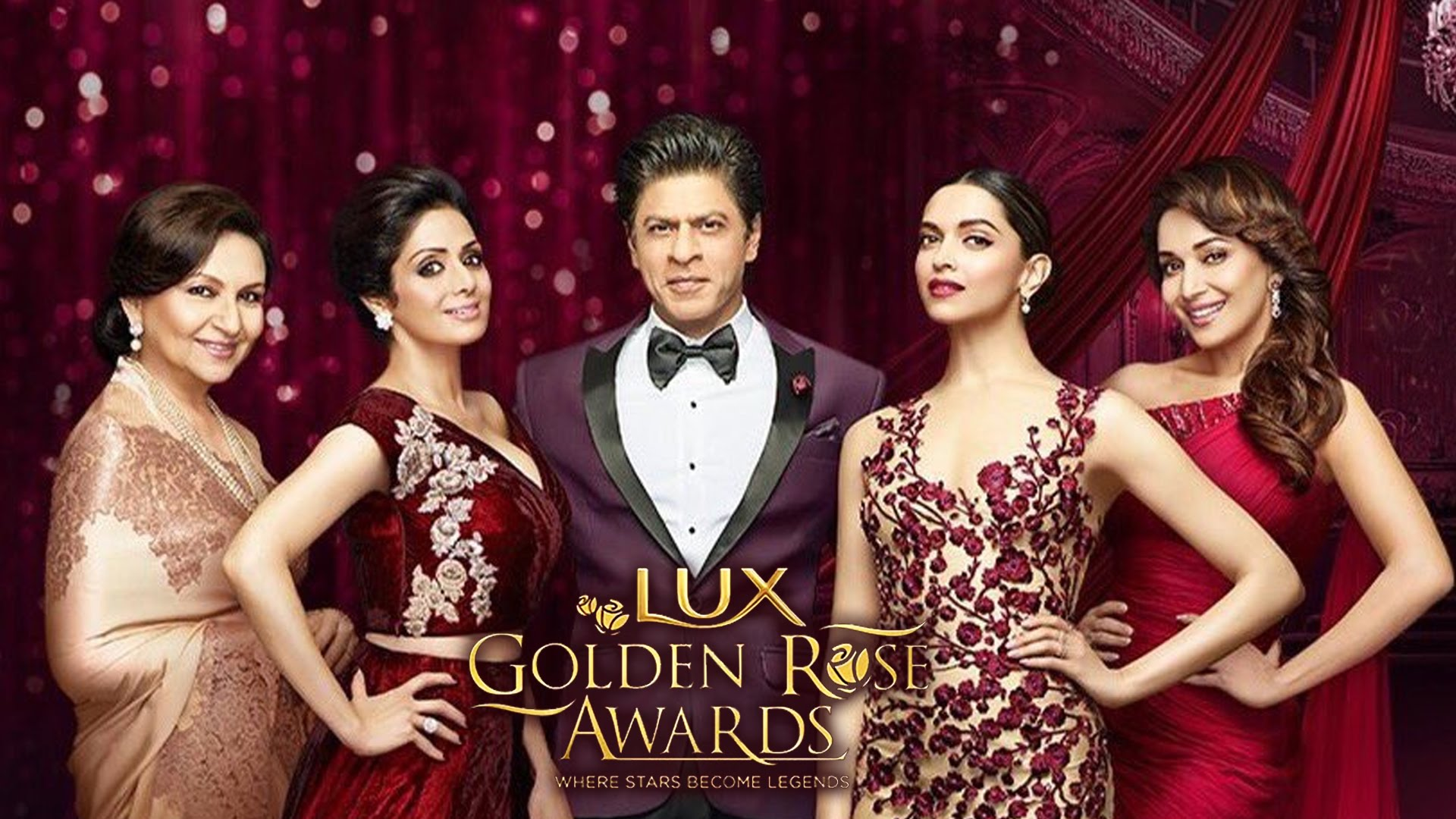 A GRAND EXTRAVAGANZA, THE SECOND EDITION OF LUX GOLDEN ROSE AWARDS IS BACK