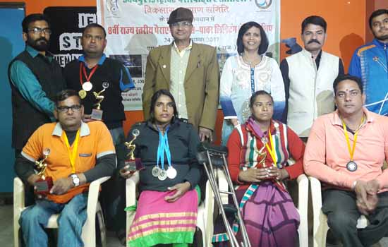 Para Athletics and Power Lifting Meddlers Felicated
