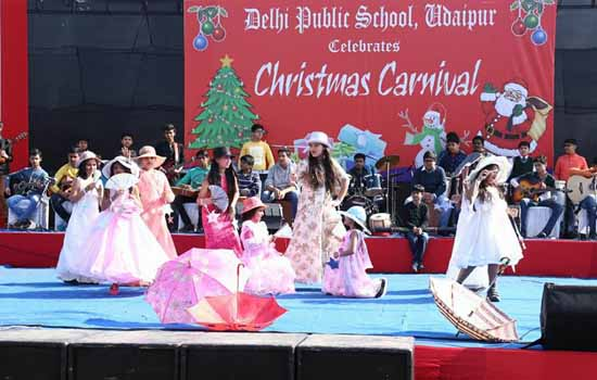 D.P. S. Celebrated colorful Christmas carnival