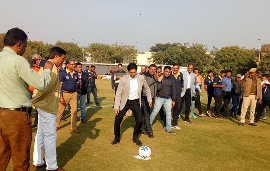 CAMP BEGINS FOR THE FINAL – 40 AT HINDUSTAN ZINC FOOTBALL ACADEMY