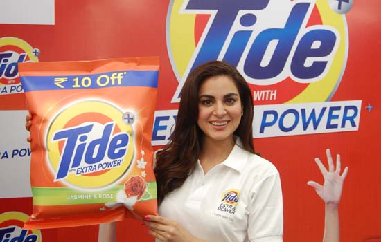New Tide Plus with Extra Power Launched Shraddha Arya, Anita Hassanandani and Sai Tamhankar