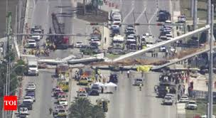US: Six people killed in bridge collapse at Florida
