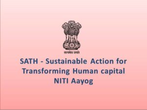 NITI Aayog to release SATH-E project today