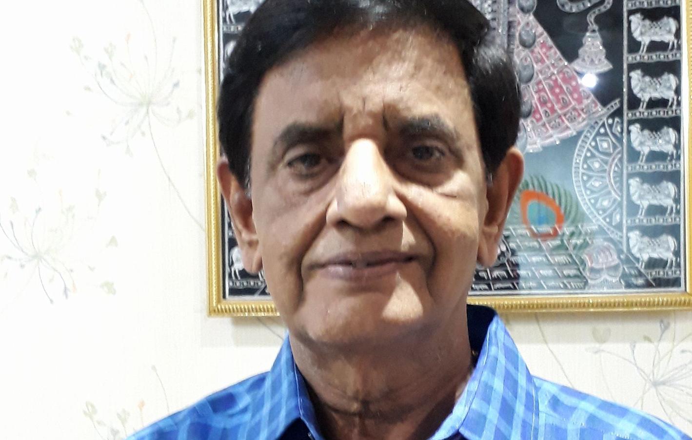 Dilip Sukhadia  cremated