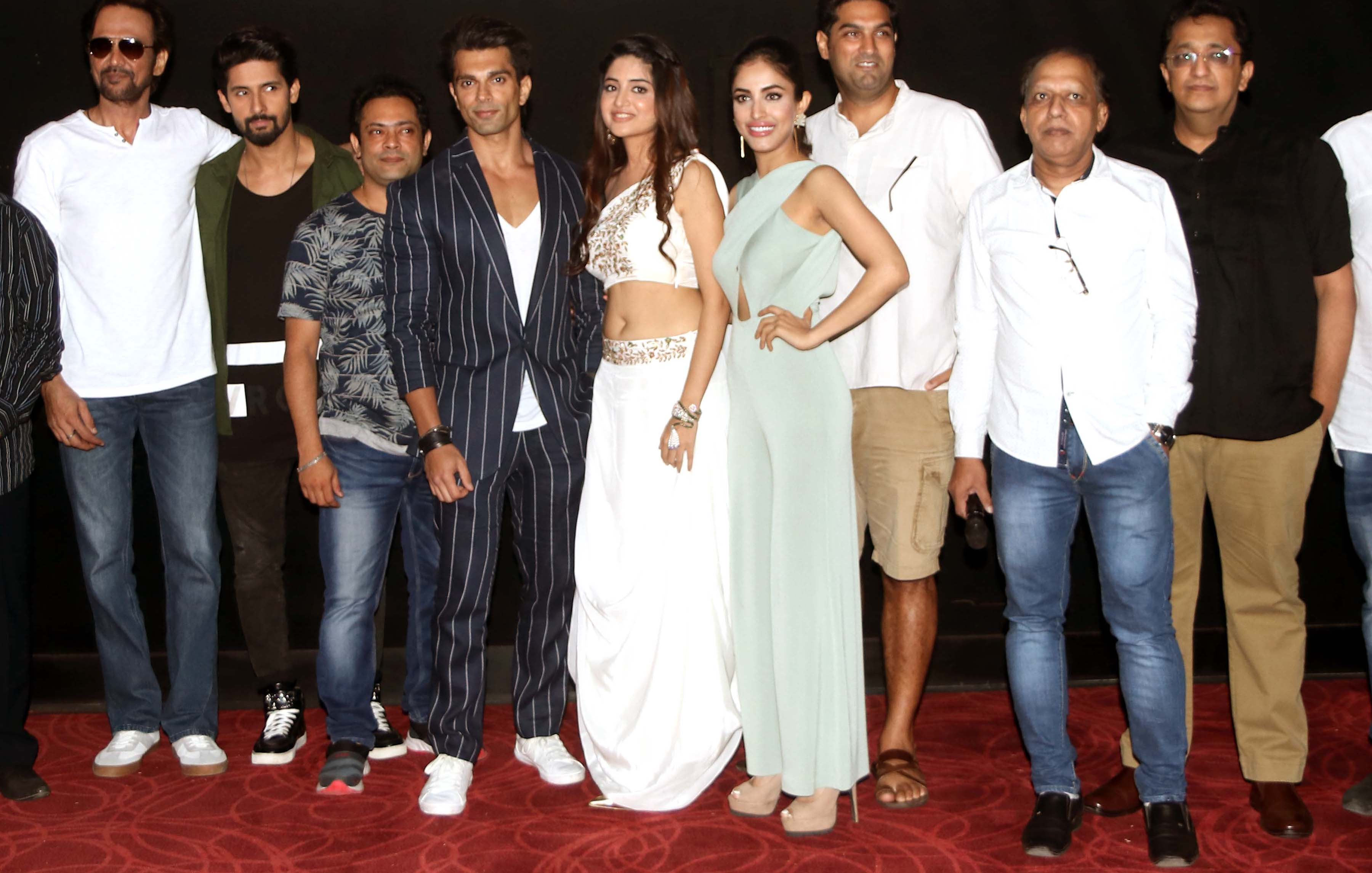 Launch of trailer of Hindi film 3DEV.
