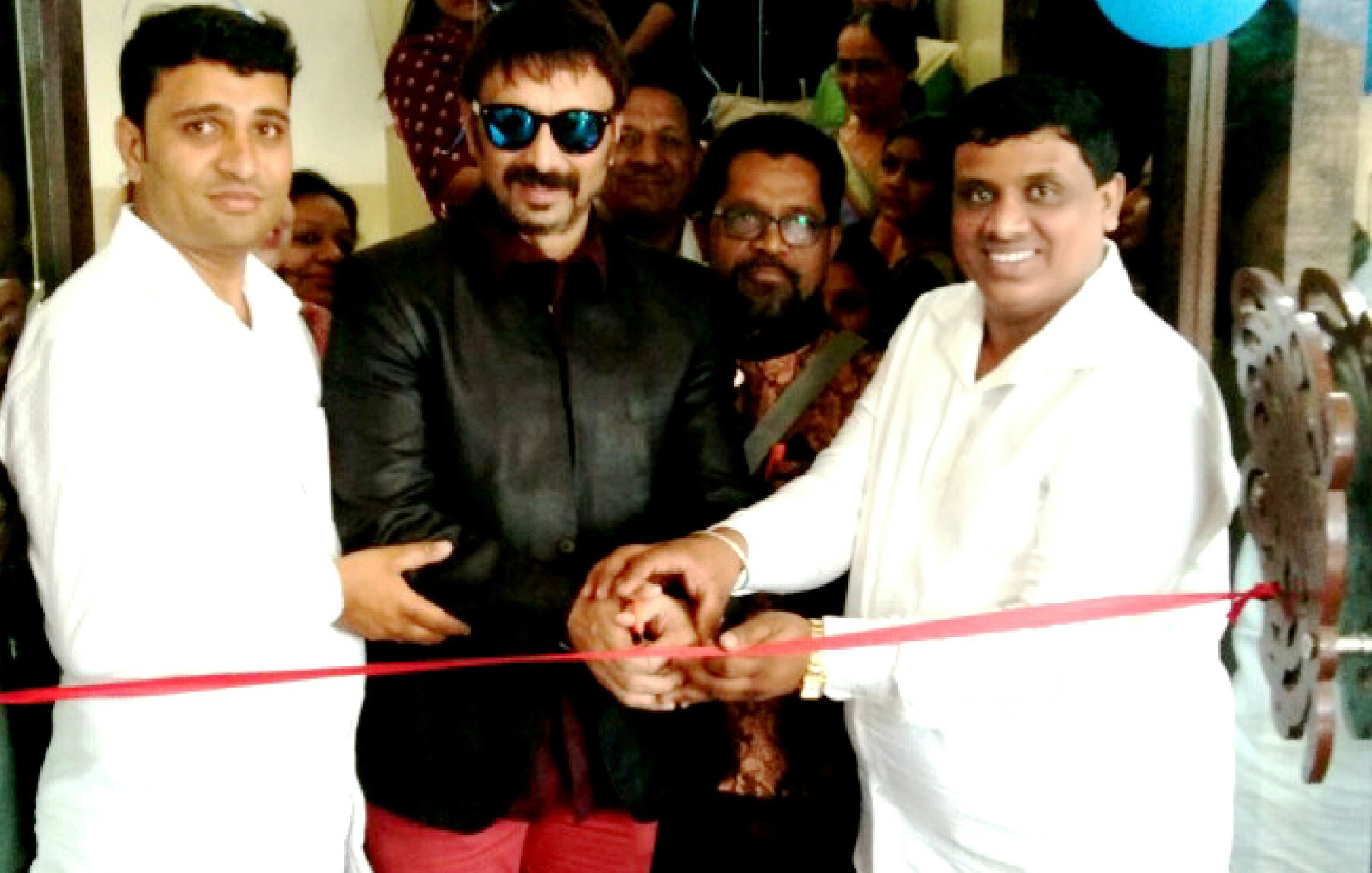 Bollywood Actor Shiva inaugurates new Restaurant 'Royal Taste & Banquet Hall'