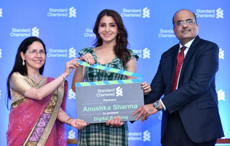 Standard Chartered Bank :Anushka Sharma as brand ambassador