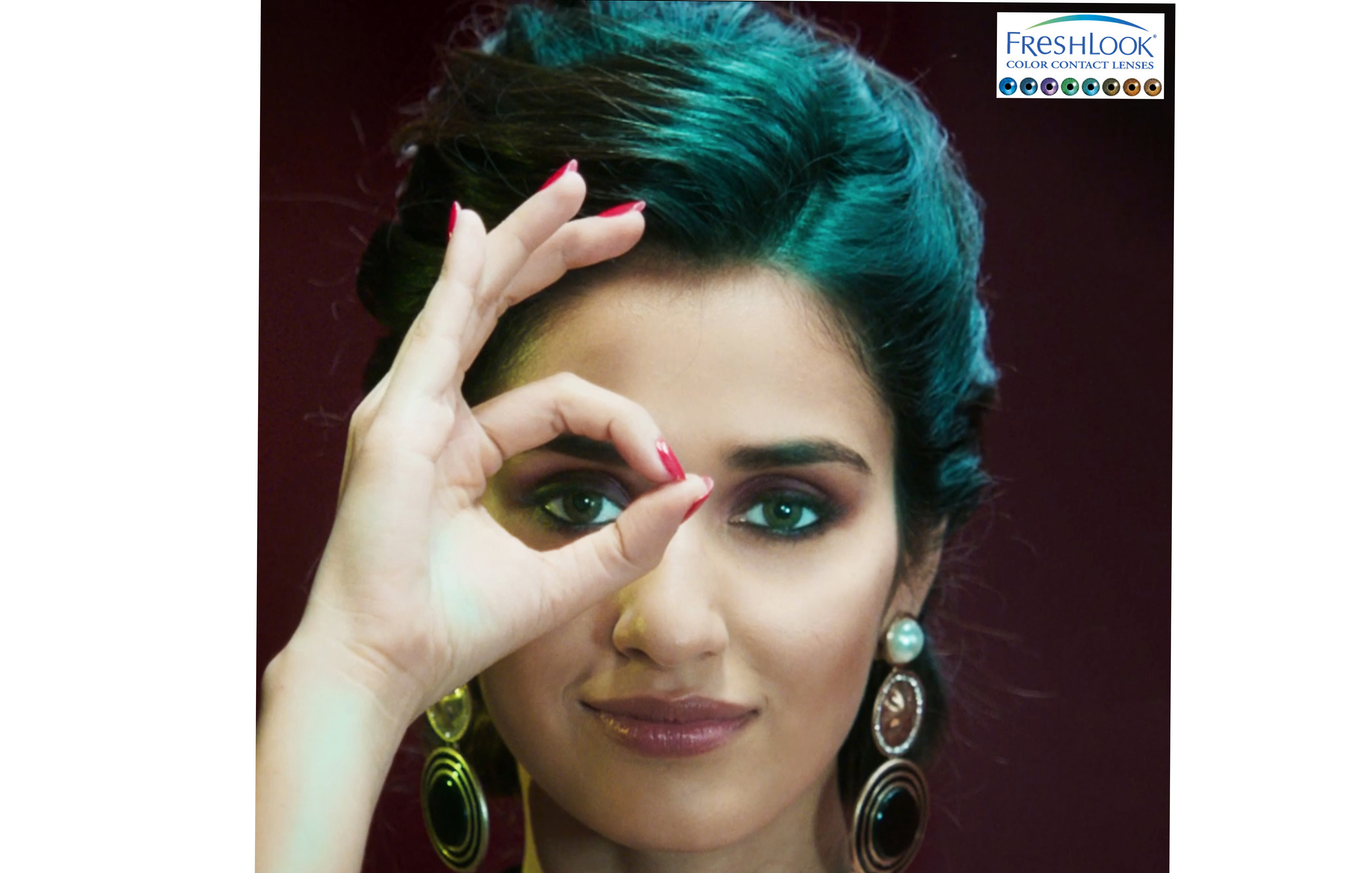 Disha Patani, Signed on as New Face of Fresh Look Color Contact Lenses