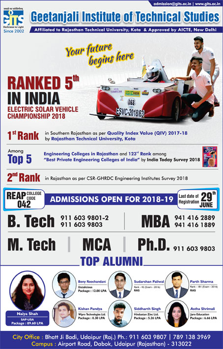 Advertisement_Geetanjali institute of technical studies