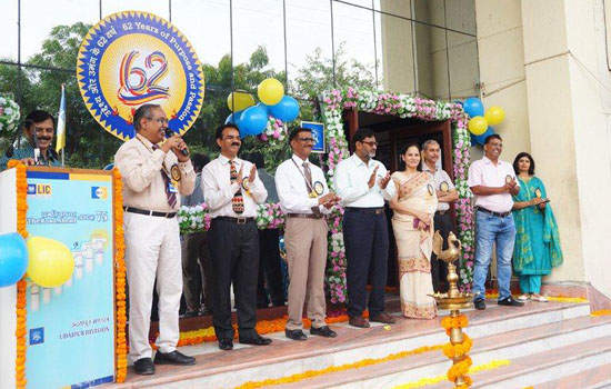 LIC Celebrates 62nd foundation day