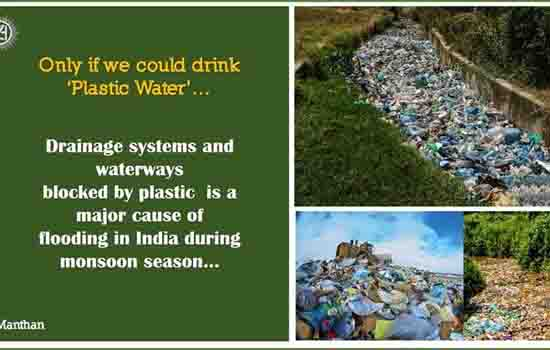 Manthan – Only if we could drink 'Plastic Water'