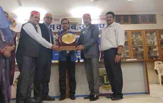 Lion Suresh Mehta  Honored