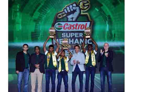 Team Bangalore Win All India Castrol Bikes Super Mechanic Title
