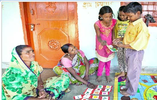 SAPNA, BACHAT, UDAAN PROGRAM TEACHES CHILDREN