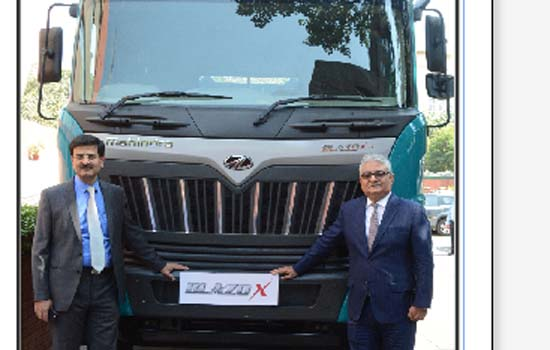 Mahindra Introduces BLAZOX Range of HCV Trucks to Address Rising Fuel Cost Woes of Transporters