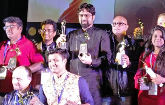 Directors Suujoy Mukerji and Raja Mukerji Win Awards at the Virgin Spring Cinefest - 2018