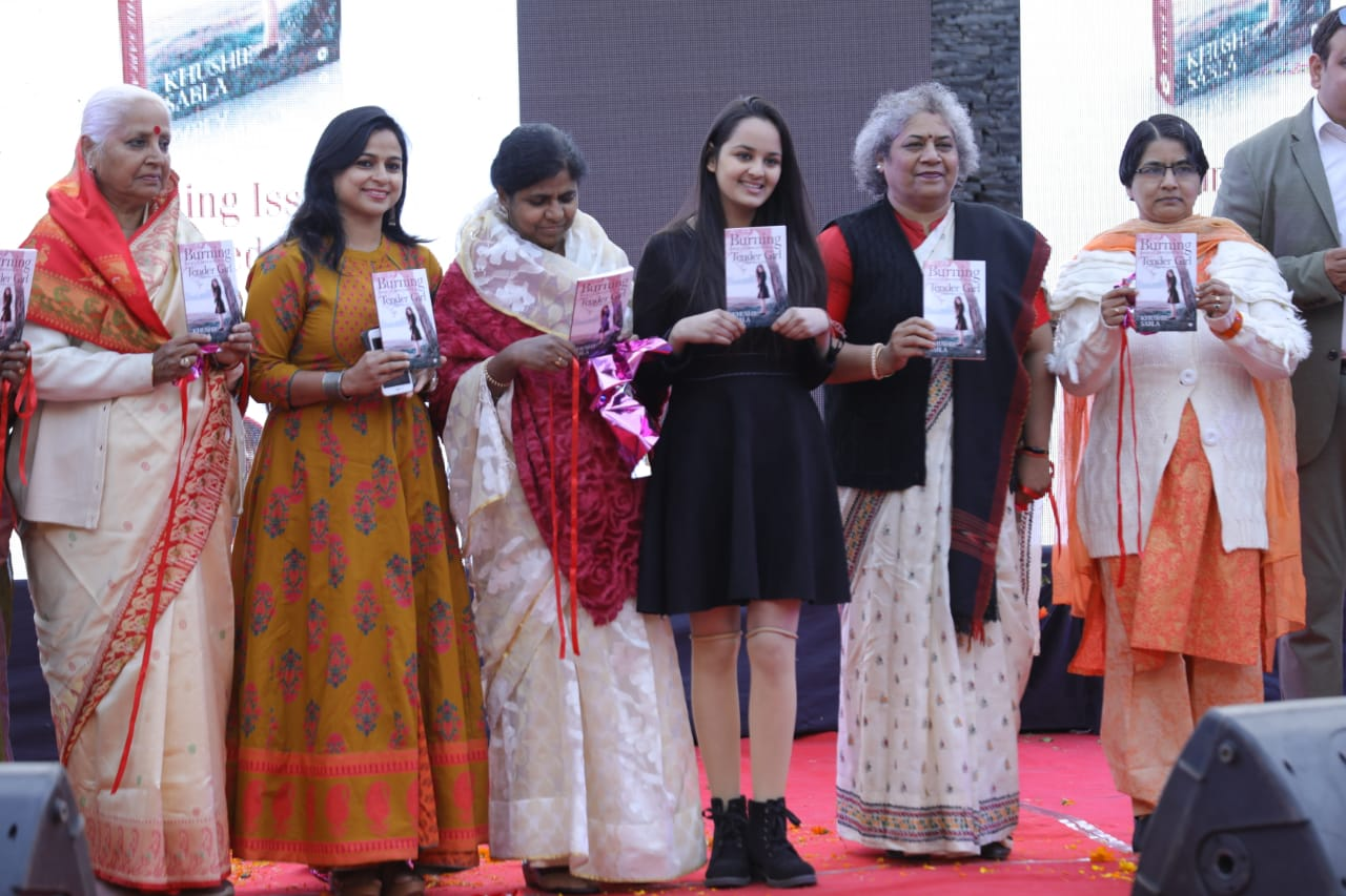 Burning Issue conveyed by a  Boy  to  Tender Girl ' book released