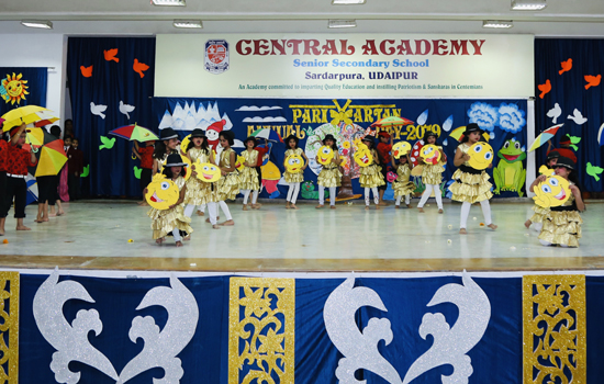 Annual Function Celebration at Central Academy Sr. Sec. School
