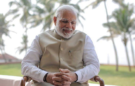 SERVING PEOPLE - AN IN HERENT PART OF MY UPBRINGING SAYS PM MODI