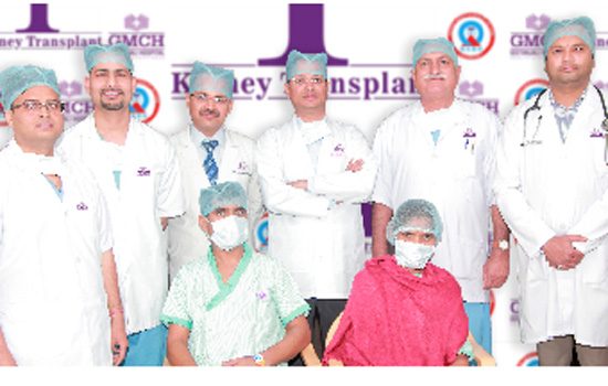 Geetanjali Hospital Conducts its First Successful Kidney Transplant