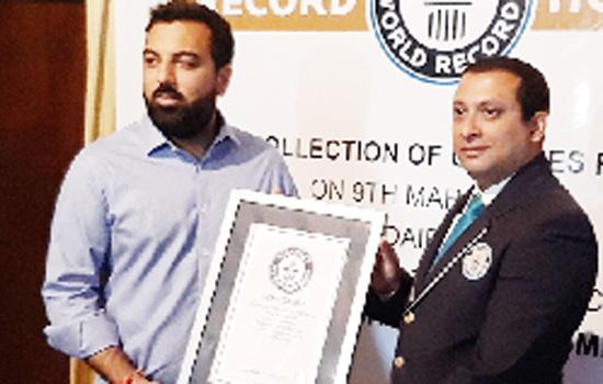 Lakshya Raj Singh Mewar bags Guinness Book of World Records
