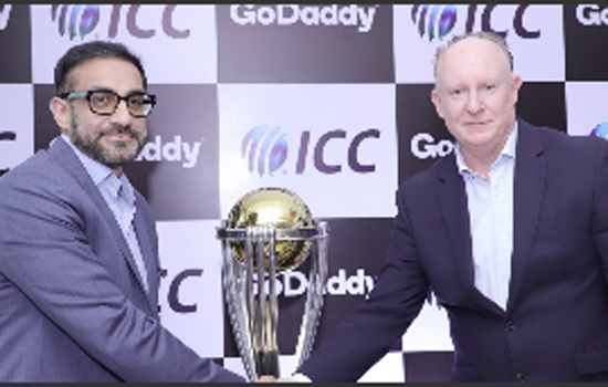 GODADDY PARTNERS WITH THE ICC @ THE MEN'S CRICKET WORLD CUP 2019