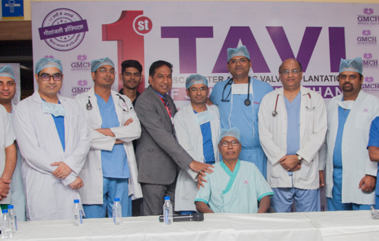 """First Successful TAVI of South Rajasthan"""