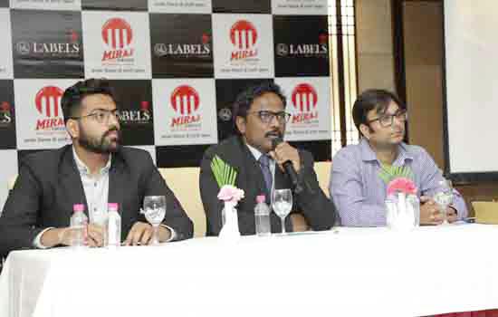 Mantraraj Paliwal Inaugurates Miraj Labels